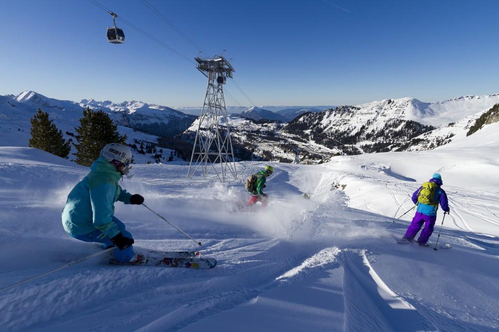 Flaine ski resort of the Grand Massif ski area