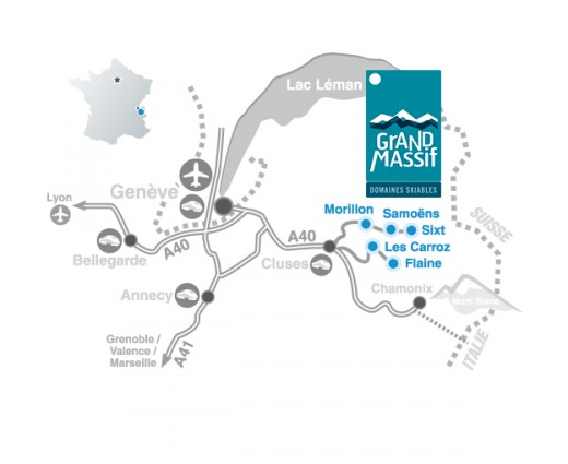 Grand Massif access